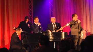 Former Cathedrals members and Pat Barker sing Step Into the Water