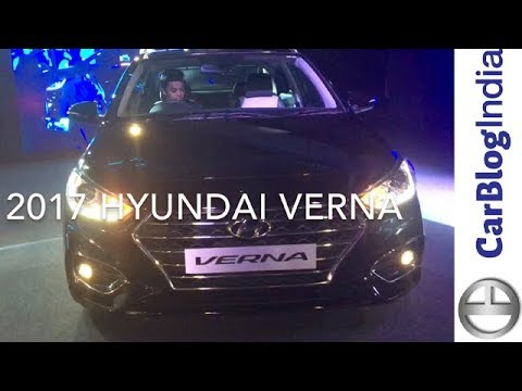 New 2017 Hyundai Verna Price, Features, Specifications, Mileage, Variants All You Need To Know
