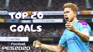 PES 2020 - TOP 20 GOALS #5 | HD