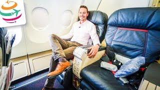 TURKISH AIRLINES Business Class A330-300 | GlobalTraveler.TV
