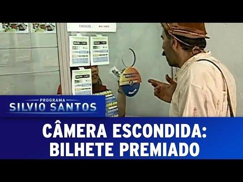 Câmera Escondida (03/07/16) - Bilhete Premiado