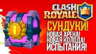 ДОРОГИЕ СУНДУКИ, НОВАЯ АРЕНА И НОВАЯ КОЛОДА! - Clash Royale(iOS)