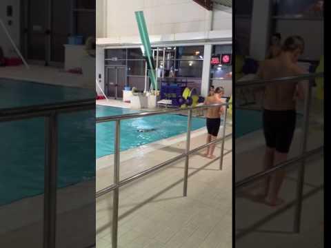 Aki's Swimming Lesson At Tudor Grange