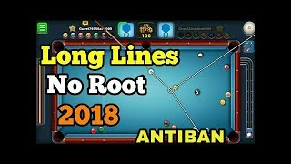 8 Ball Pool Long Line Guideline Hack Trick No Root | 8 Ball Pool  long line hack |