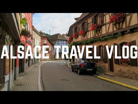 Alsace, France Travel Vlog | Andlau, Plobsheim, Obernai, Rosheim