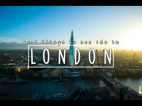 Best Things To See & Do In London! | London Travel Guide 2018