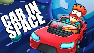 What If You Fly Into Space Inside CAR?