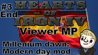 HoI4 - Modern day mod MP - Day 3 of 3
