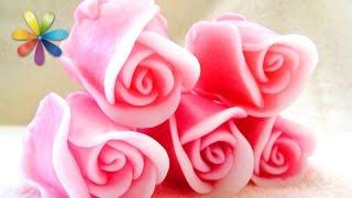 цветы из мыла своими руками  Все буде добре. Выпуск 702 от 10.11.15