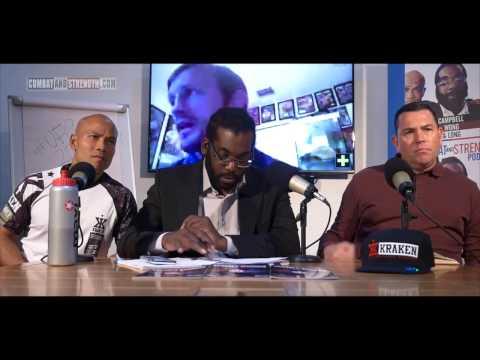 BRAD PICKETT UFC talks on Combat & Strength Podcast E3
