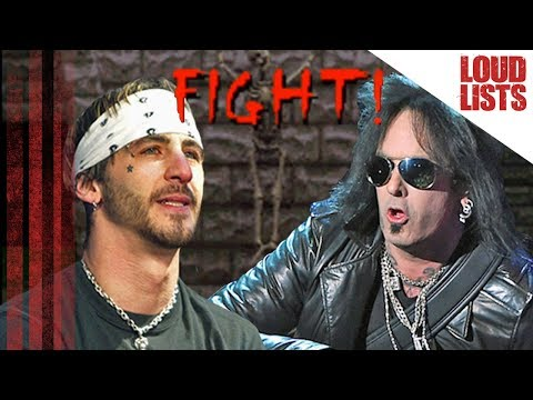10 Nastiest Rock Star Feuds