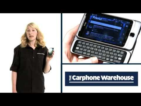 HTC Desire Z - The Carphone Warehouse - eye openers