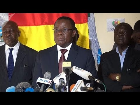 Cameroon's opposition politician Maurice Kamto freed