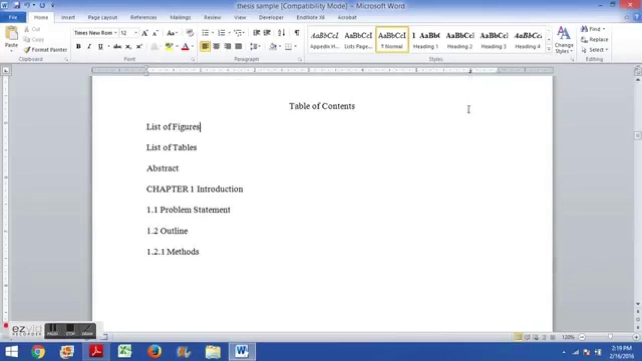 Dissertation leadership thesis