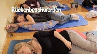 Rückenbeschwerden während der Schwangerschaft - Tipps und Ratschläge von Hebamme Iris Edenhofer