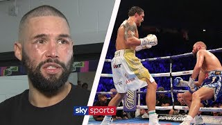 EXCLUSIVE: Tony Bellew reacts to his knockout defeat to Oleksandr Usyk and talks retirement