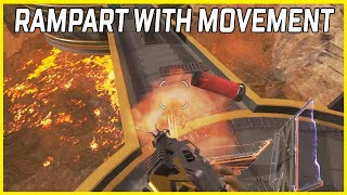 Rampart, But With Movement (Apex Legends #Shorts)