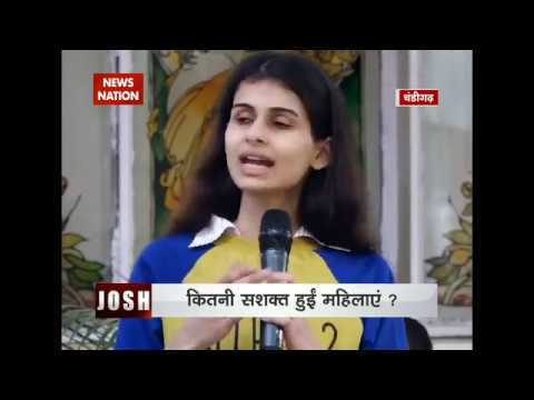 Josh: Debate on Women empowerment by students from college in Chandigarh