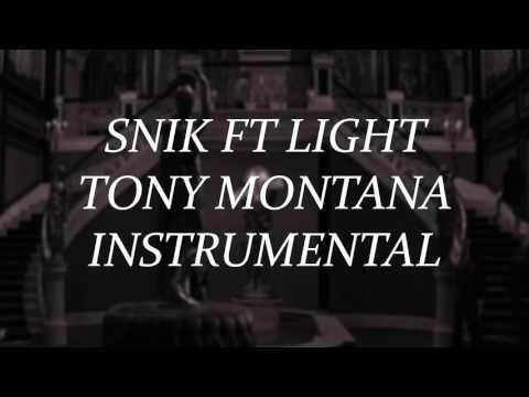 Snik feat Light - Tony Montana INSTRUMENTAL