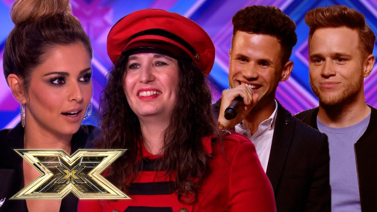 WHEN THE JUDGES MEET THEIR DOUBLES! | Auditions | The X Factor UK