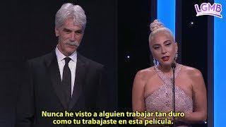 Discurso de Lady Gaga en honor a Bradley Cooper durante los American Cinematheque Awards