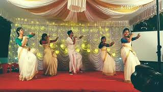 chunk cousins dance on madhuramveppu-JIJO & ROSE