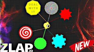 Zlap.io EPIC DUEL /TRIPLE KILL/ AWESOME MOMENTS / New GAME