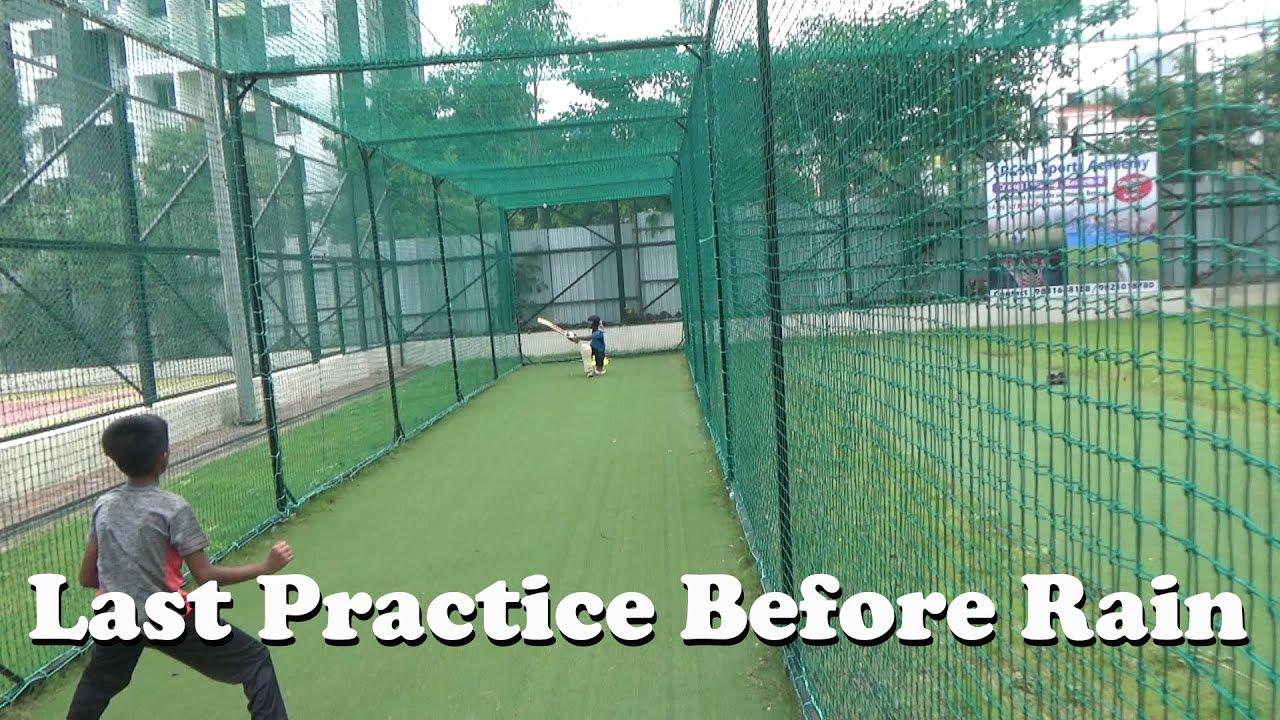 Last Practice before rain