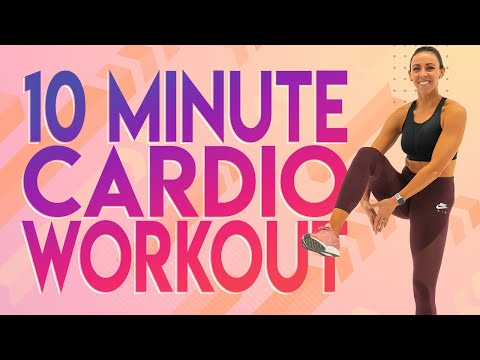 10 Minute Cardio Workout | 30 Day At-Home Workout Challenge | Day 27