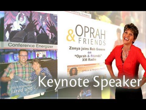 Funny Motivational Speaker Zonya Foco,  Dietitian/Comedian