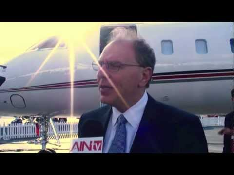 NBAA 2012 - Bombardier displays the Global 6000