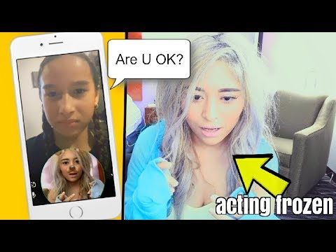 pranking-fans-on-snapchat!-(acting-like-i'm-frozen)