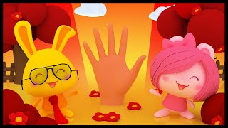 La famille des doigts Titounis - Finger Family Rhyme in French - Méli et Touni streaming