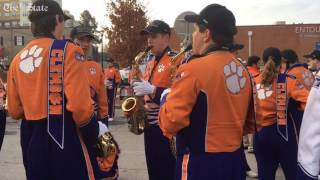 Gearing up for the Natioal Championship parade in Clemson