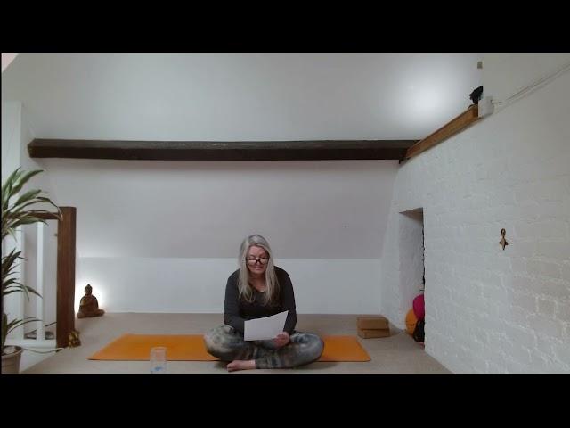Creating Space Meditation