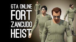 GTA Online Doomsday Heist Pt 4 Server Farm: FORT ZANCUDO HEIST Preparation Mission