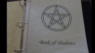 What Is In Your Book of Shadows (BOS)?