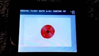 Animación: la TI-84 Plus, ESTE