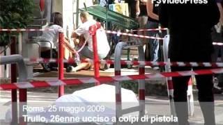 Roma, lo uccide a colpi di pistola: importunava la figlia