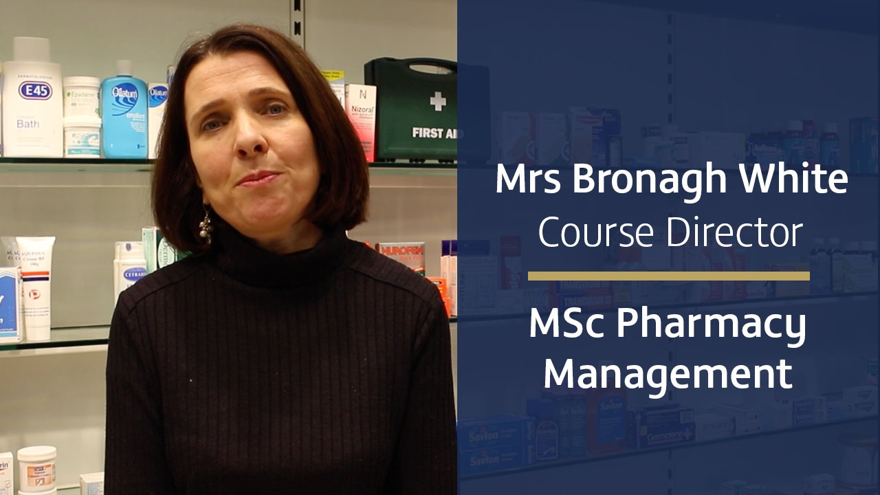 Pharmacy Management MSc eLearning Part-time 2019/20 | Ulster