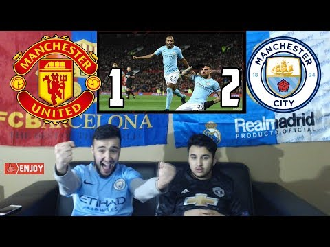 BARÇA & MADRID FANS REACT TO: MAN CITY 1-2 RECORD BREAKING WIN OVER MAN UTD - REACTION
