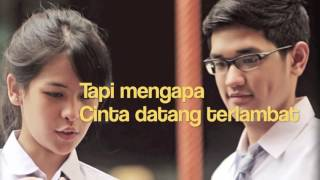 Maudy Ayunda - Cinta Datang Terlambat (Ost  Refrain) (Official Lyric Video)