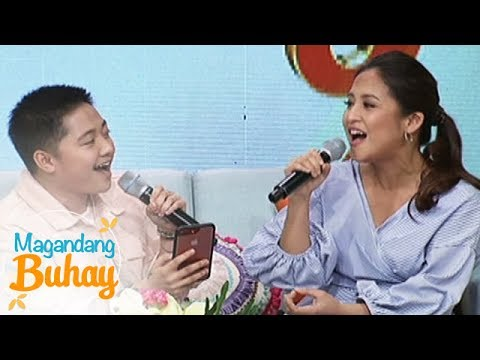 """Magandang Buhay: Jake Zyrus and Jolina """"Kapag Ako ay Nagmahal"""""""