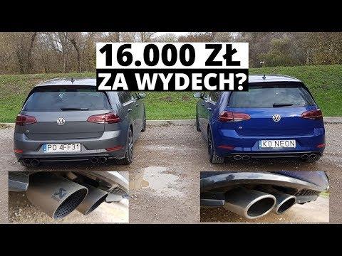 Czy warto dopłacić 16.000 zł za wydech Akrapović w Golfie R?