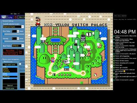 [Livestream Archive] [Epilepsy Warning] Super Mario World Corruption with RTC