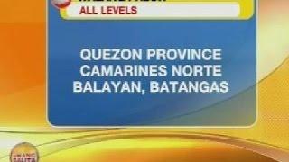 UB: Klase sa Quezon Province, Camarines Norte at Balayan, Batangas, kanselado na rin
