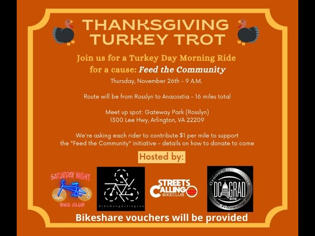 Turkey Day Trot Fundraiser Recap