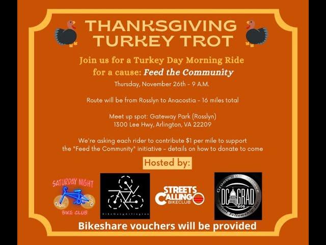 Turkey Day Trot Fundraiser Recap