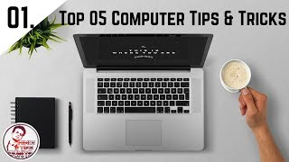 Top 05 best computer tips and tricks || Hindi || 2017