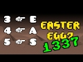Leet Easter Egg in Geometry Dash?